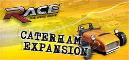 Banner artwork for RACE: Caterham Expansion.