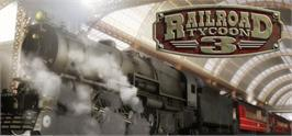 Banner artwork for Railroad Tycoon 3.