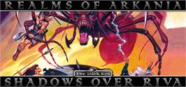 Banner artwork for Realms of Arkania 3 - Shadows over Riva Classic.
