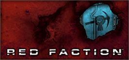 Banner artwork for Red Faction.