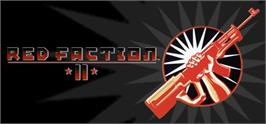 Banner artwork for Red Faction II.