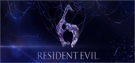 Banner artwork for Resident Evil 6 / Biohazard 6.