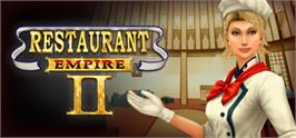 Banner artwork for Restaurant Empire II.
