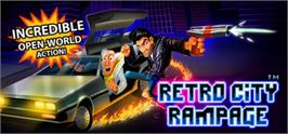 Banner artwork for Retro City Rampage.