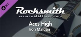 Banner artwork for Rocksmith® 2014  Iron Maiden - Aces High.