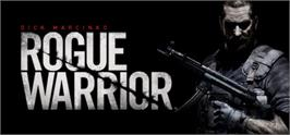 Banner artwork for Rogue Warrior.