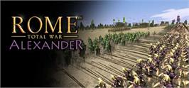 Banner artwork for Rome: Total War - Alexander.