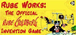 Banner artwork for Rube Works: The Official Rube Goldberg Invention Game.