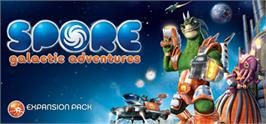 Banner artwork for SPORE Galactic Adventures.