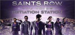 Banner artwork for Saints Row: The Third Initiation Station.