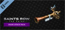Banner artwork for Saints Row: The Third Shark Attack Pack.