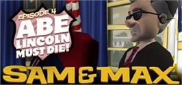 Banner artwork for Sam & Max 104: Abe Lincoln Must Die!.