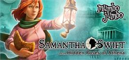 Banner artwork for Samantha Swift and the Hidden Roses of Athena.