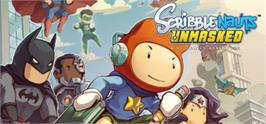 Banner artwork for Scribblenauts Unmasked: A DC Comics Adventure.