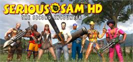 Banner artwork for Serious Sam HD: The Second Encounter - Demo.