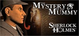 Banner artwork for Sherlock Holmes: The Mystery of the Mummy.