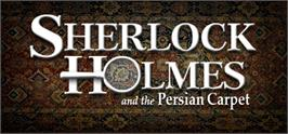 Banner artwork for Sherlock Holmes: The Mystery of the Persian Carpet.
