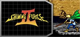 Banner artwork for Shining Force II.