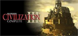 Banner artwork for Sid Meier's Civilization® III Complete.