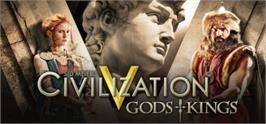 Banner artwork for Sid Meier's Civilization V - Gods and Kings.