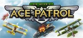 Banner artwork for Sid Meiers Ace Patrol.