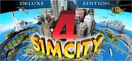 Banner artwork for SimCity 4 Deluxe Edition.