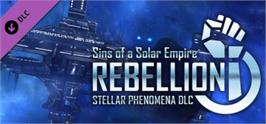 Banner artwork for Sins of a Solar Empire®: Rebellion - Stellar Phenomena.