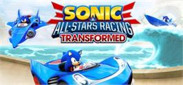 Banner artwork for Sonic & All-Stars Racing Transformed.