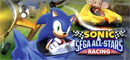 Banner artwork for Sonic & SEGA All-Stars Racing.