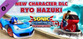 Banner artwork for Sonic and All-Stars Racing Transformed: Ryo Hazuki.