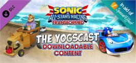 Banner artwork for Sonic and All-Stars Racing Transformed - Yogscast DLC.