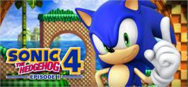 Banner artwork for Sonic the Hedgehog 4 - Episode I.