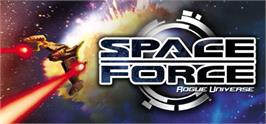 Banner artwork for SpaceForce Rogue Universe.
