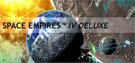Banner artwork for Space Empires IV Deluxe.