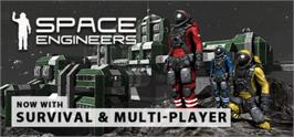 Banner artwork for Space Engineers.