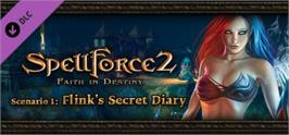 Banner artwork for SpellForce 2 - Faith in Destiny Scenario 1: Flink's Secret Diary.