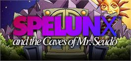 Banner artwork for Spelunx and the Caves of Mr. Seudo.