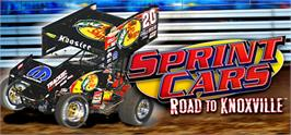 Banner artwork for Sprint Cars Road to Knoxville.