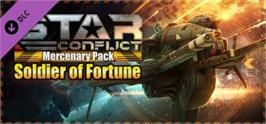 Banner artwork for Star Conflict: Mercenary Pack - Soldier of Fortune.
