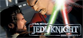 Banner artwork for Star Wars Jedi Knight: Dark Forces II.