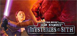 Banner artwork for Star Wars Jedi Knight: Mysteries of the Sith.