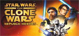 Banner artwork for Star Wars The Clone Wars: Republic Heroes.