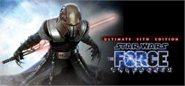 Banner artwork for Star Wars The Force Unleashed: Ultimate Sith Edition.