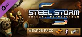 Banner artwork for Steel Storm Weapon Pack DLC.