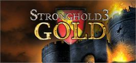 Banner artwork for Stronghold 3 Gold.
