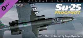 Banner artwork for Su-25: DCS Flaming Cliffs.