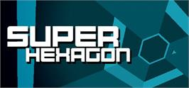 Banner artwork for Super Hexagon.