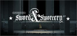 Banner artwork for Superbrothers: Sword & Sworcery EP.