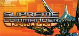 Banner artwork for Supreme Commander: Forged Alliance.
