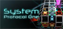 Banner artwork for System Protocol One.